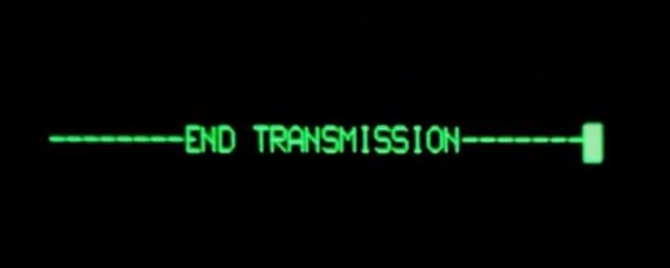 fin de transmission